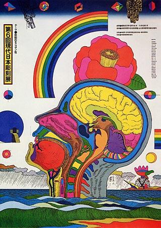 A exuberância criativa da mente liberada de seus grilhões ordinários